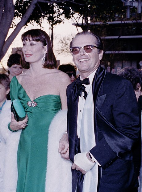 The Most Iconic Oscars Dresses Jack Nicholson Anje