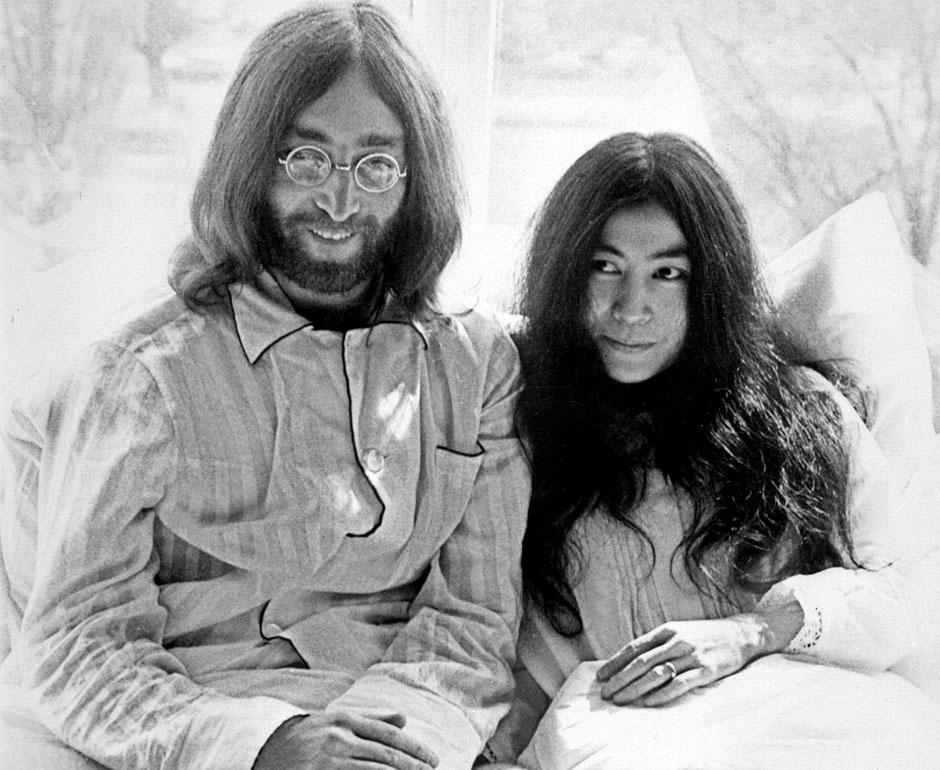 Coupes Gallery John Lennon and Yoko Ono