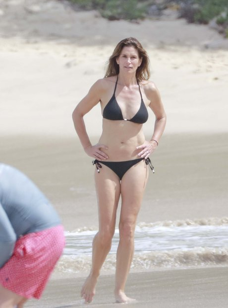 Cindy Crawford holiday in St Barts