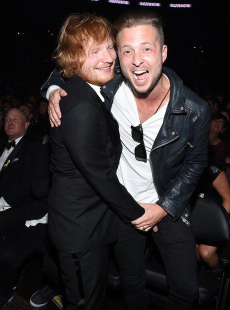 Ed Sheeran and producer Ryan Tedder