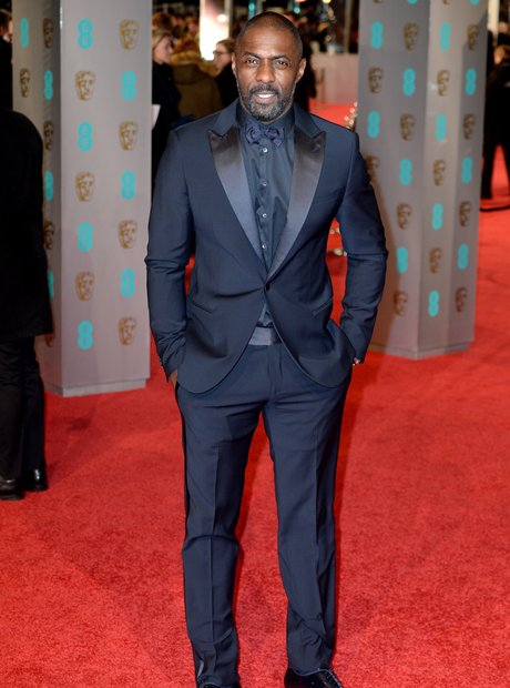 Idris Elba at the BAFTAs 2016