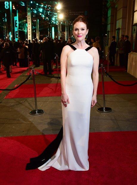 Julianne Moore at the Bafta awards 2016