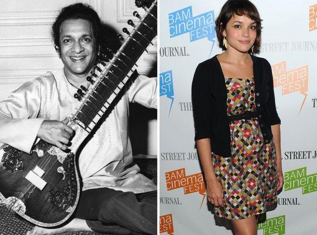 Ravi Shankar and Norah Jones