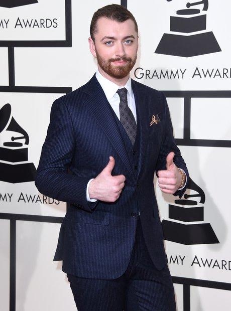 Sam Smith at the Grammy Awards 2016