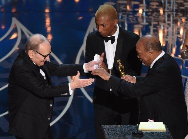 Ennio Morricone, Quincy Jones Oscars