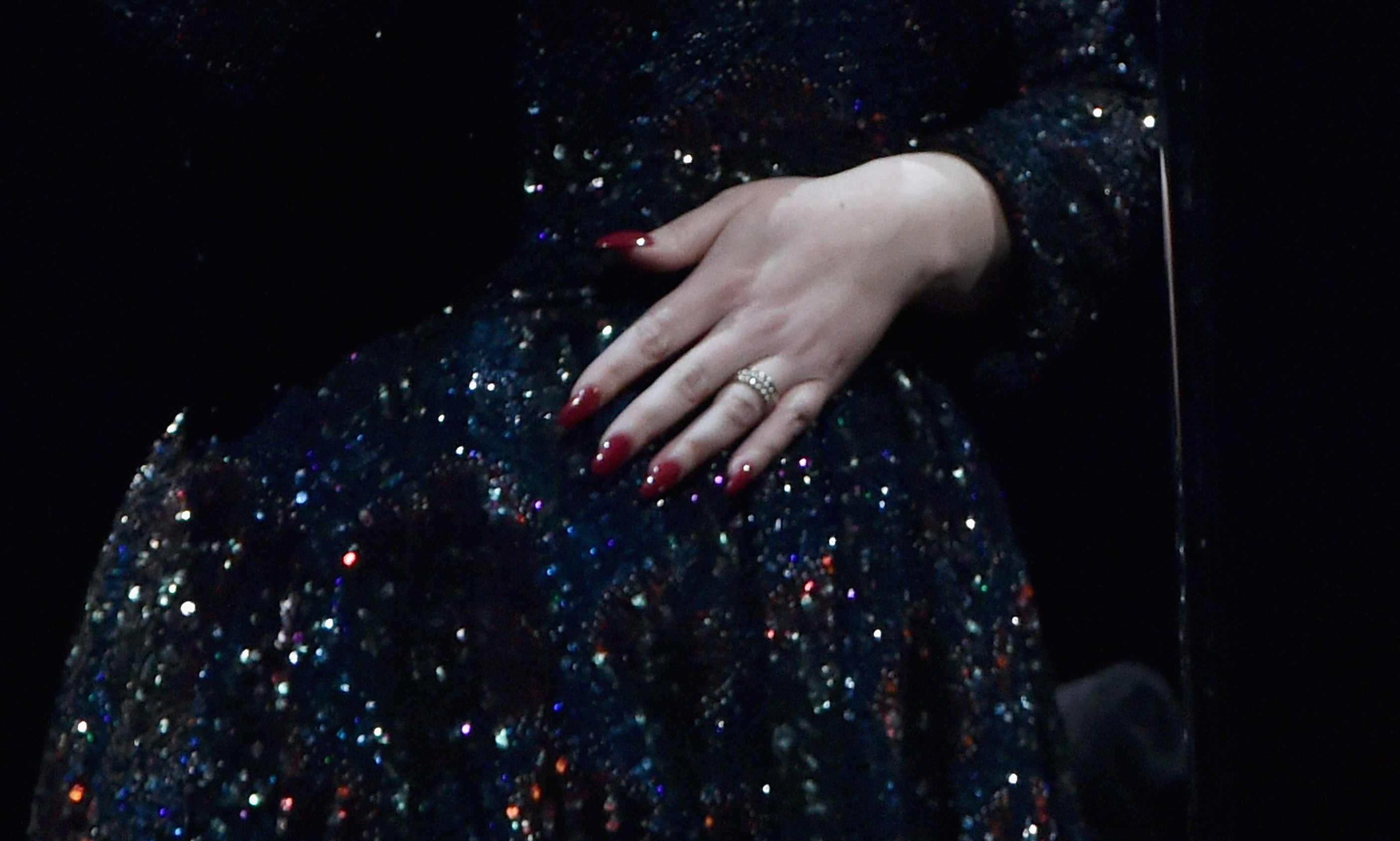 Ring suggests Adele might be engaged