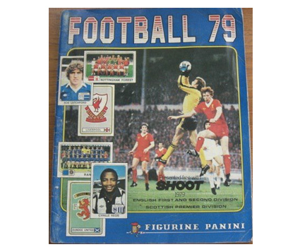 Figurini Panini Sticker Books 70s