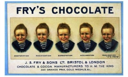 fry's chocolate retro sweets '60s