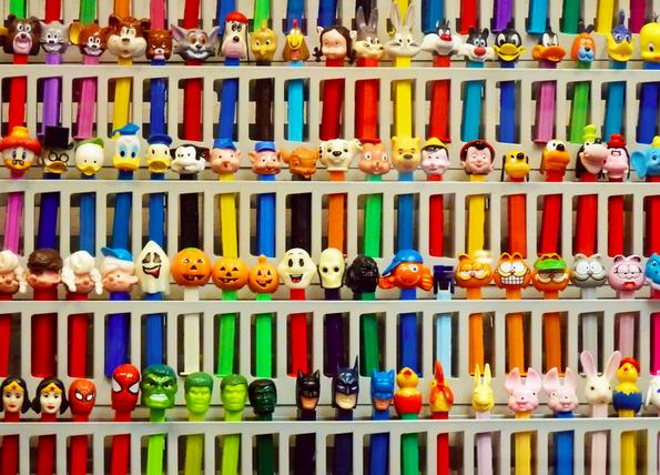 Pez sweets retro 80s