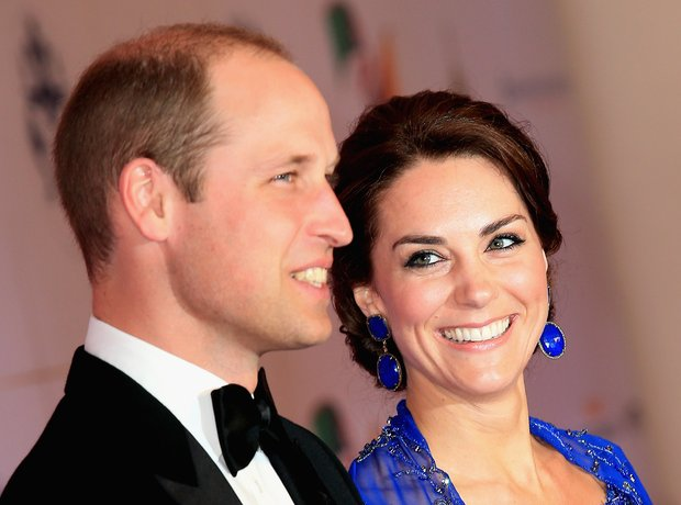Royal Family Trip to India