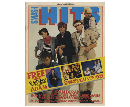 Smash Hits '80s magazine