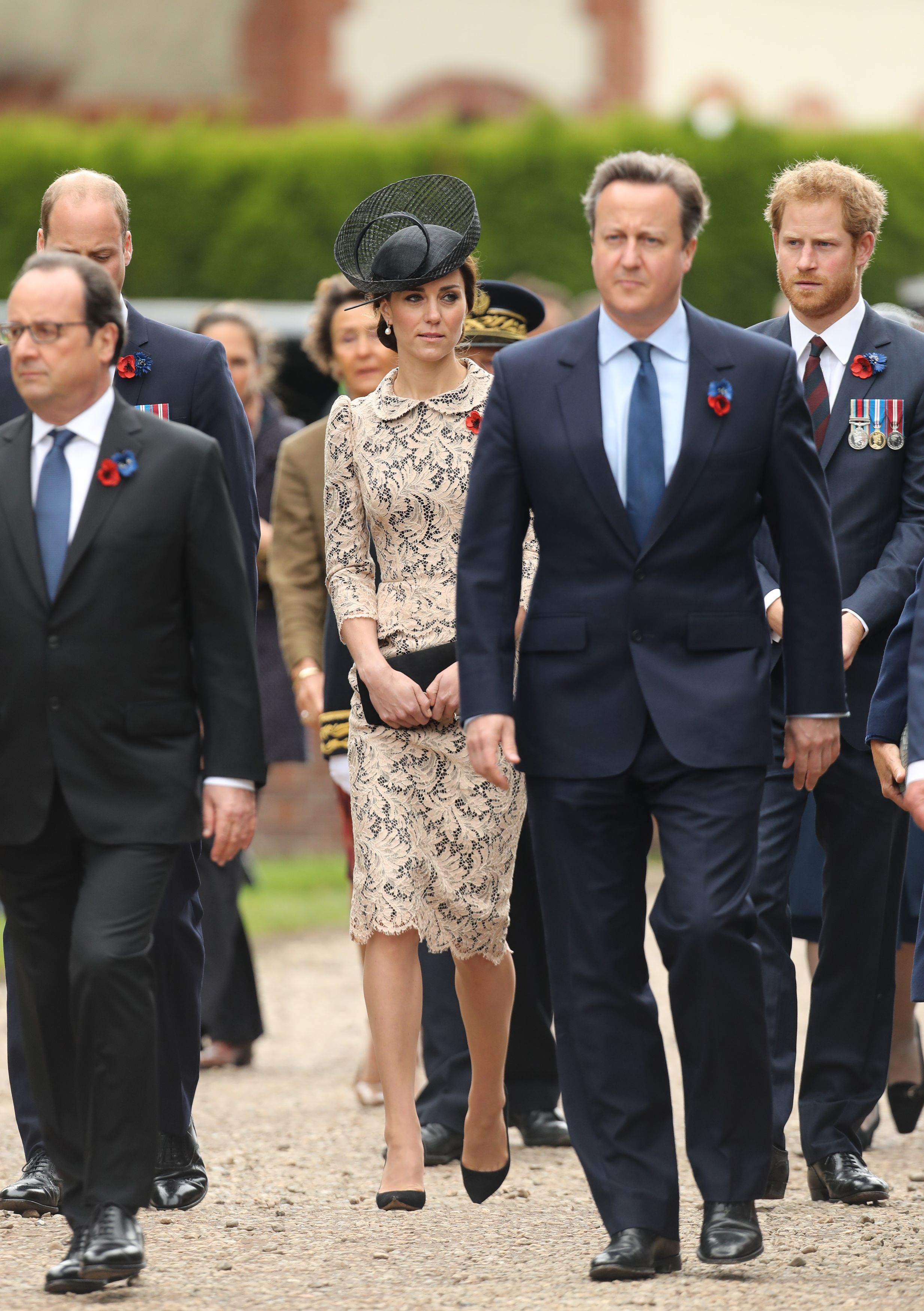 Kate middleton hovering battle of the somme