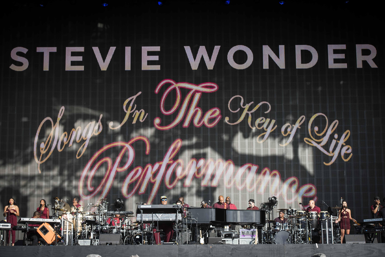 Stevie Wonder hyde park july 2016