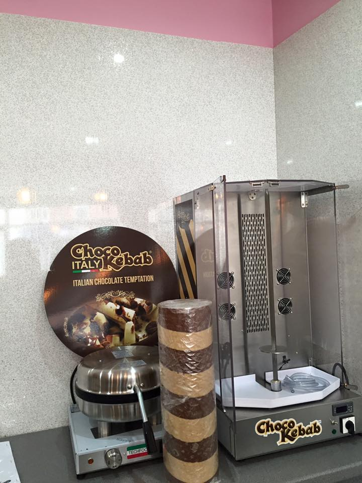 The UK's First Chocolate Kebab Shop
