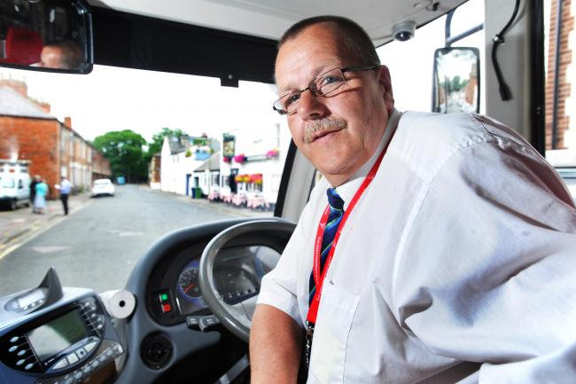 Bus Driver Mark Adams