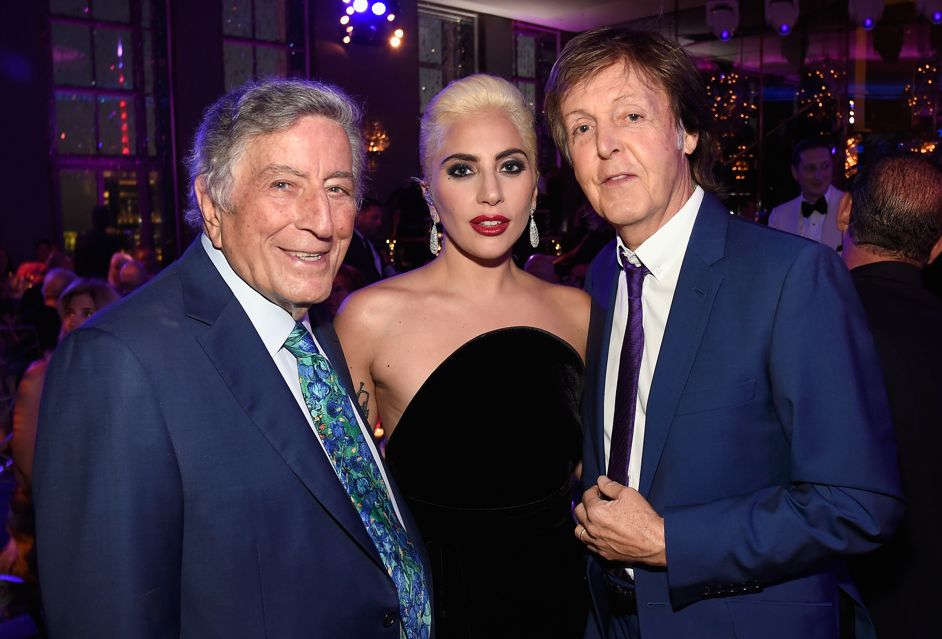 Tony Bennett, Lady Gaga, and Paul McCartney