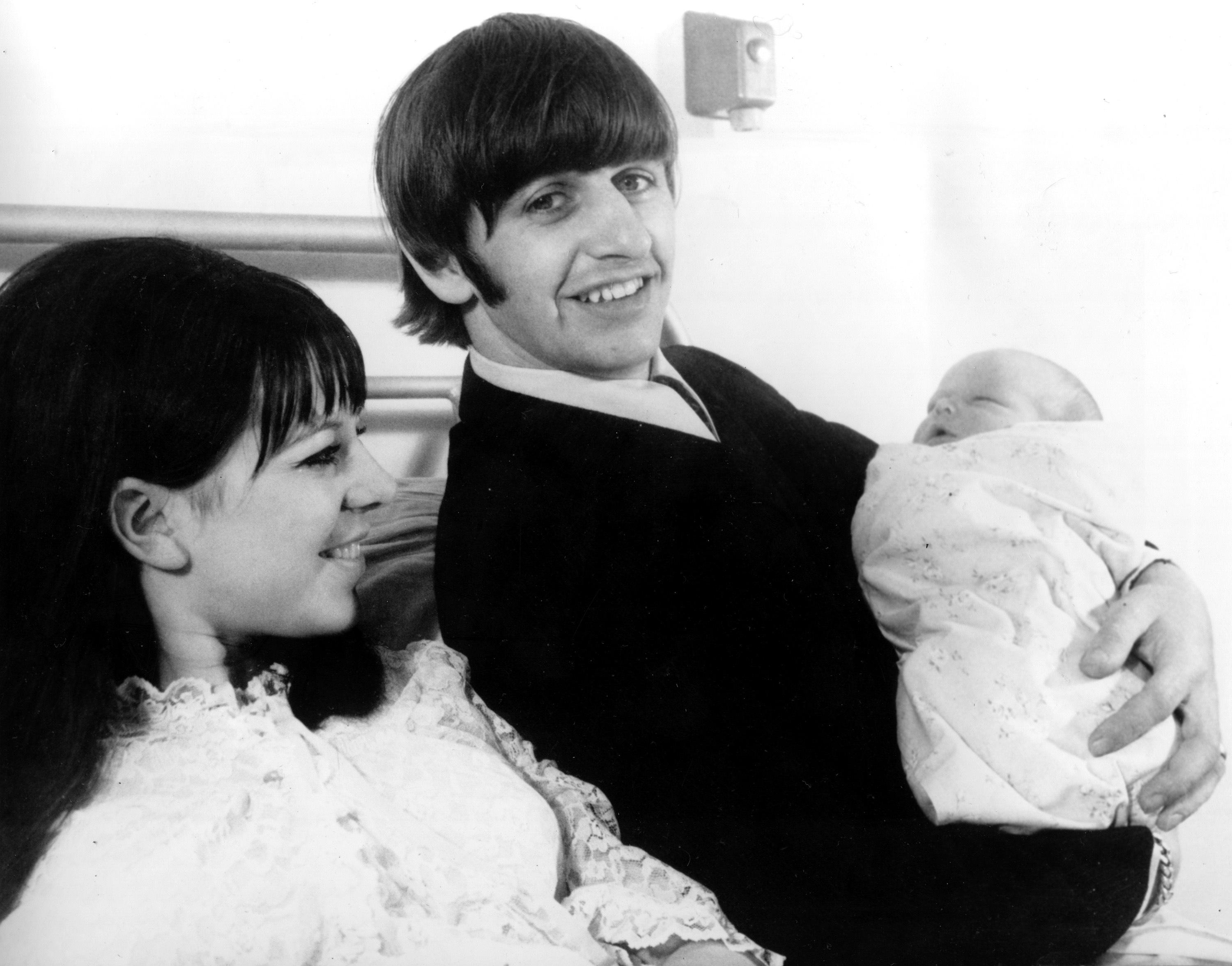 Maureen and Ringo Starr with son Zak