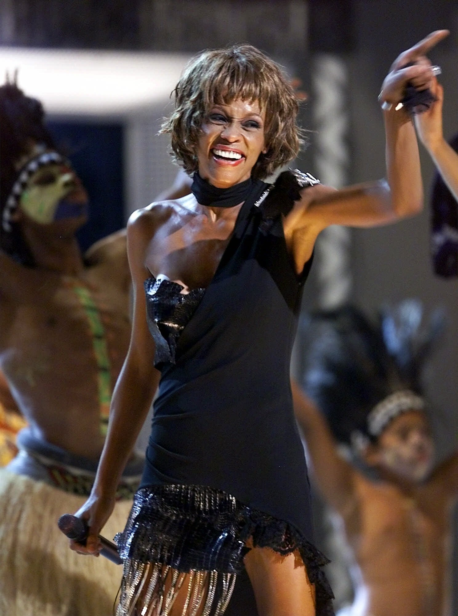 Whitney Houston 2001 michael jackson performance