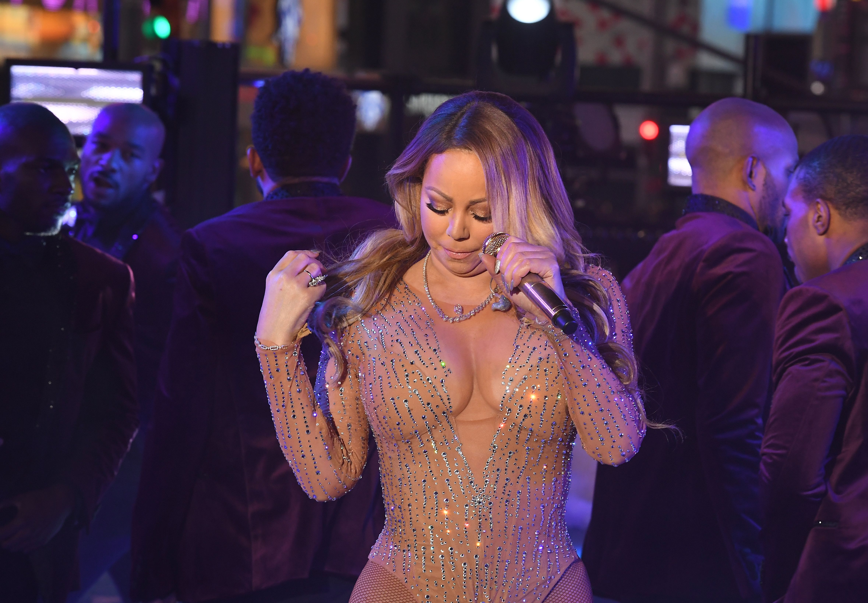 Mariah Carey New Years Eve Performance