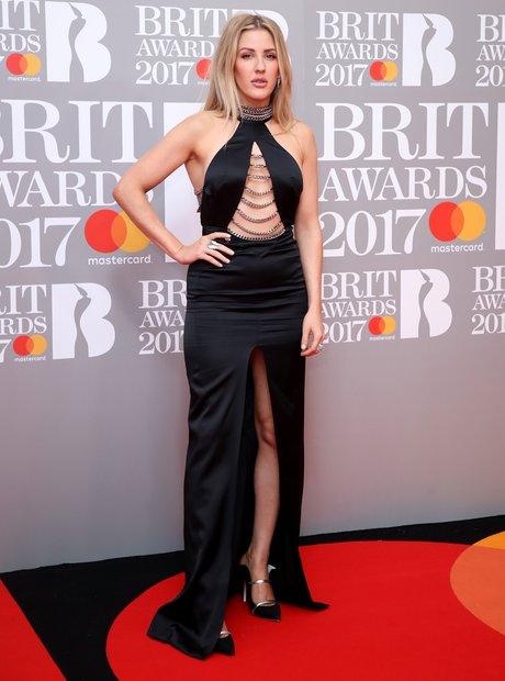 Ellie Goulding BRITs 2017 Red Carpet Arrivals