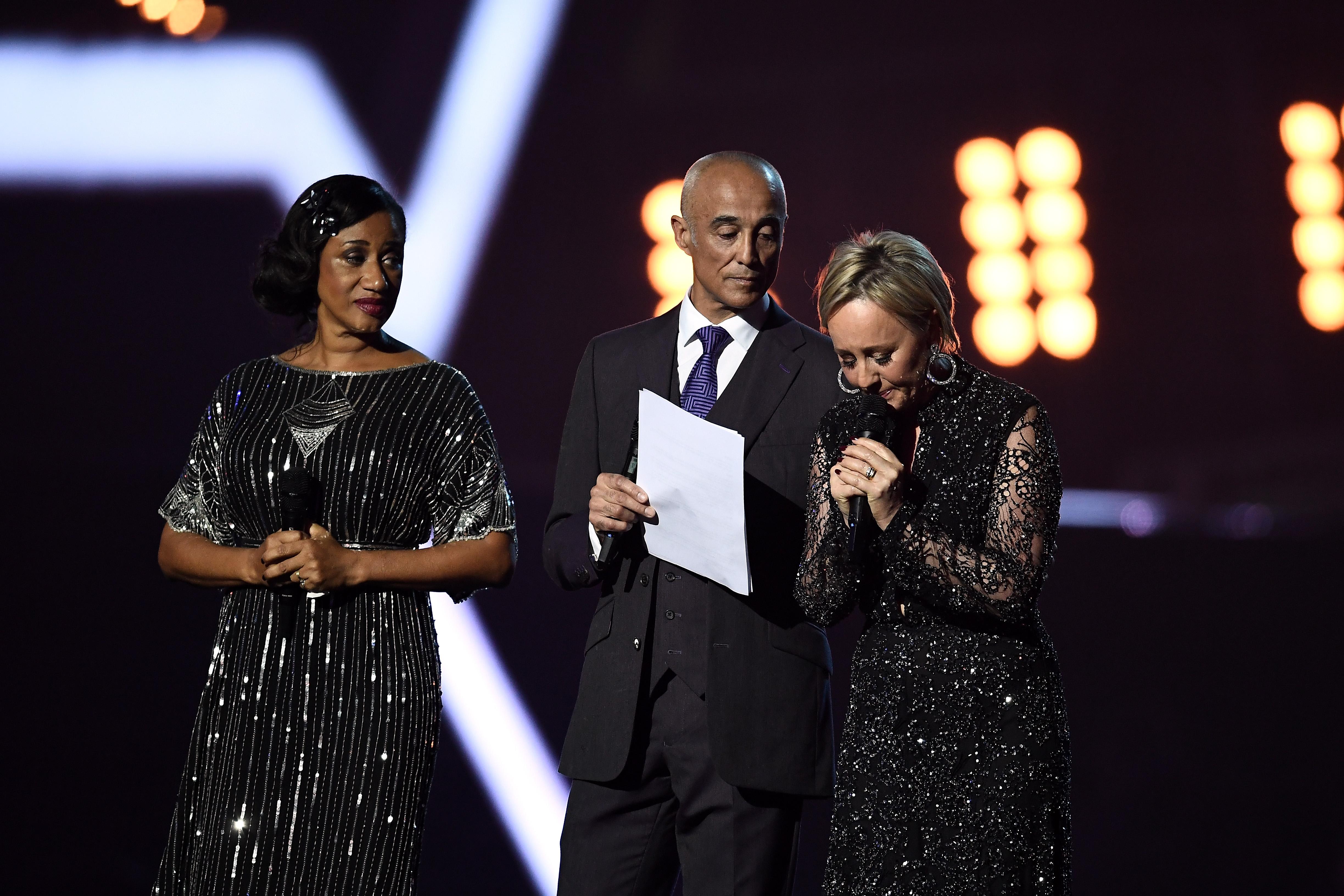 George Michael BRITs Tribute