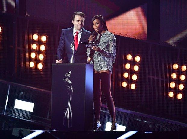 Naomi Campbell and Jonathan Ross Global Success Aw