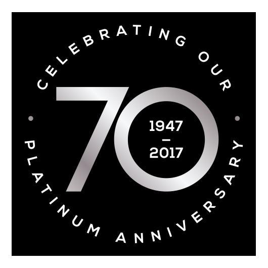 Housing Units 70th Anniversary
