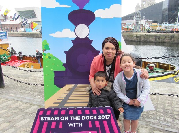 Steam On The Dock