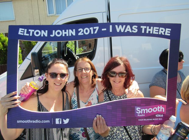 Elton John, Widnes 2017