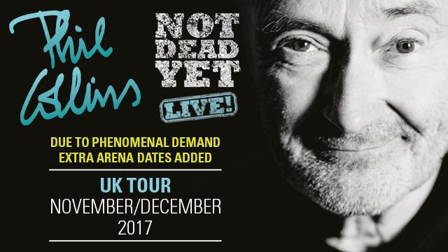 Phil Collins Arena Dates Added Social June 2017