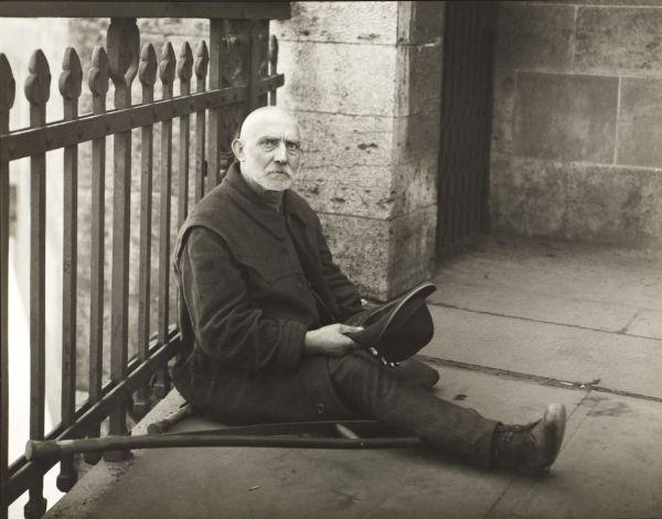 August Sander - Beggar