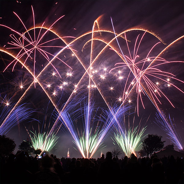 The British Musical Fireworks Championship Southport