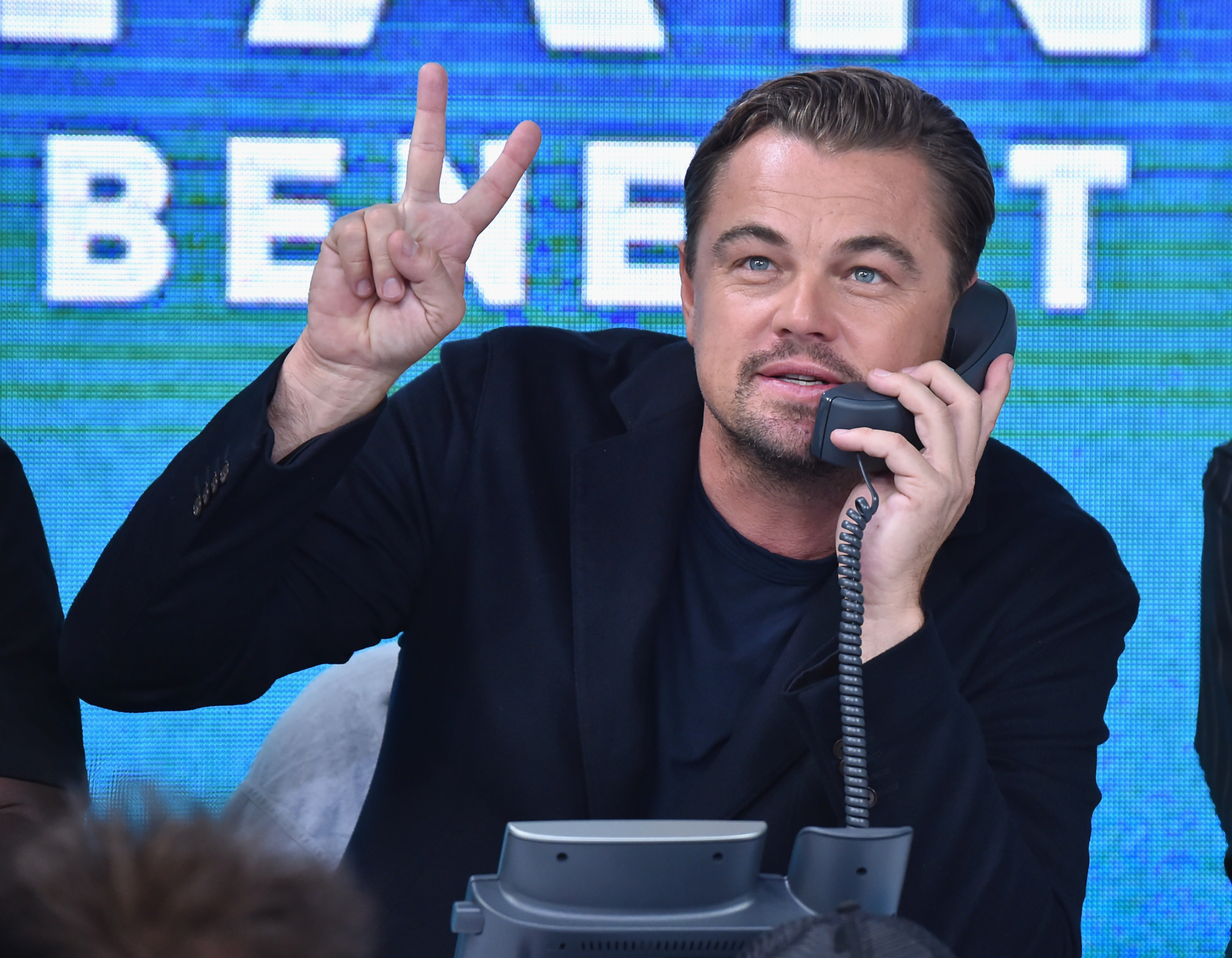 Leonardo DiCaprio attends Hand in Hand charity