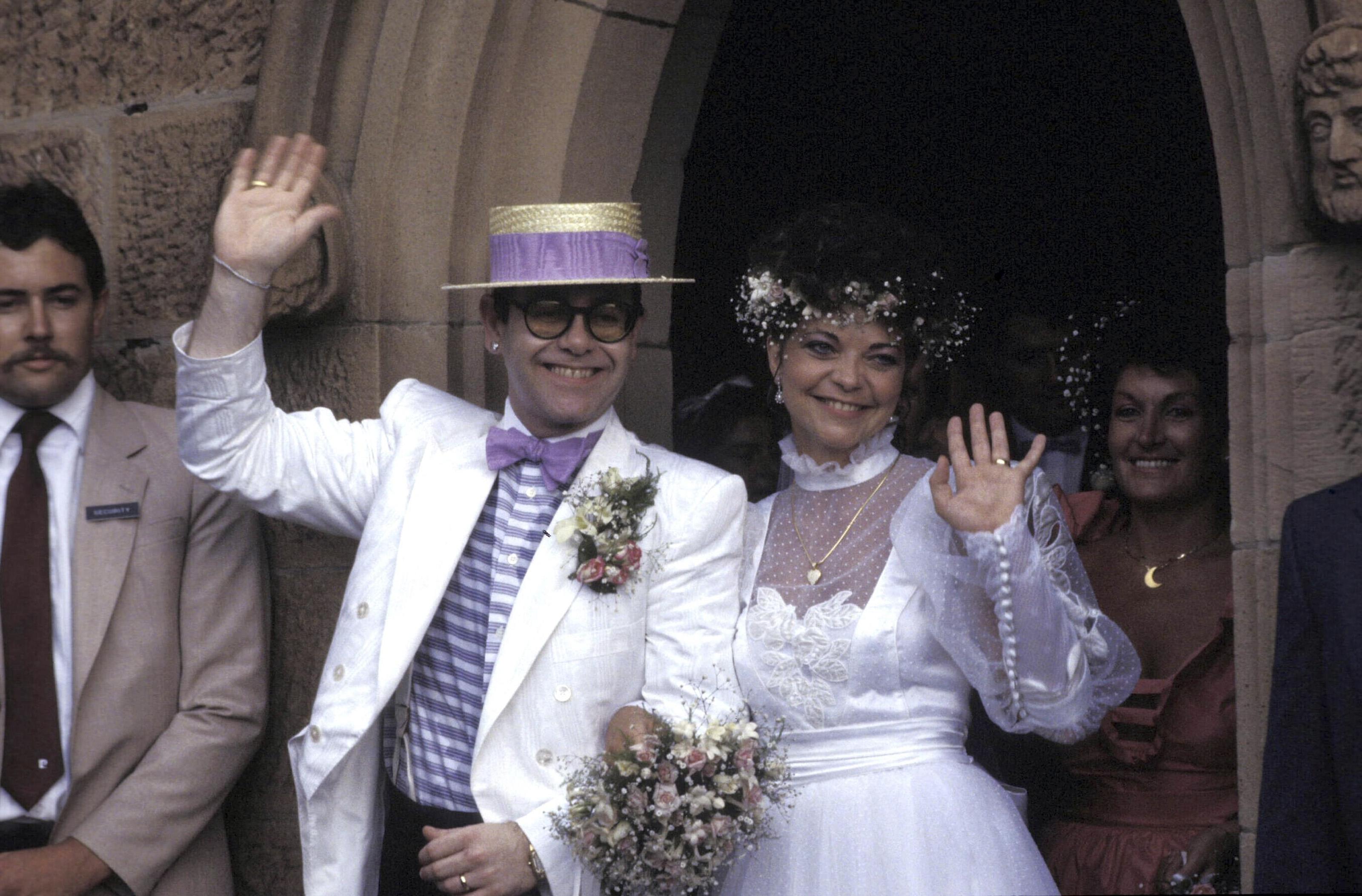 Elton John marriage 1984