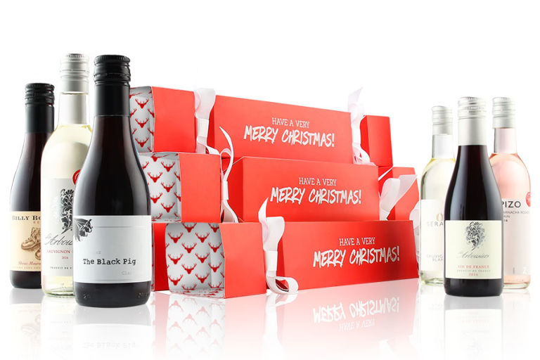 Wine Christmas crackers