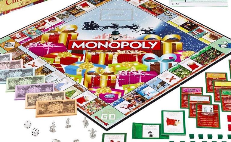 Christmas Monopoly