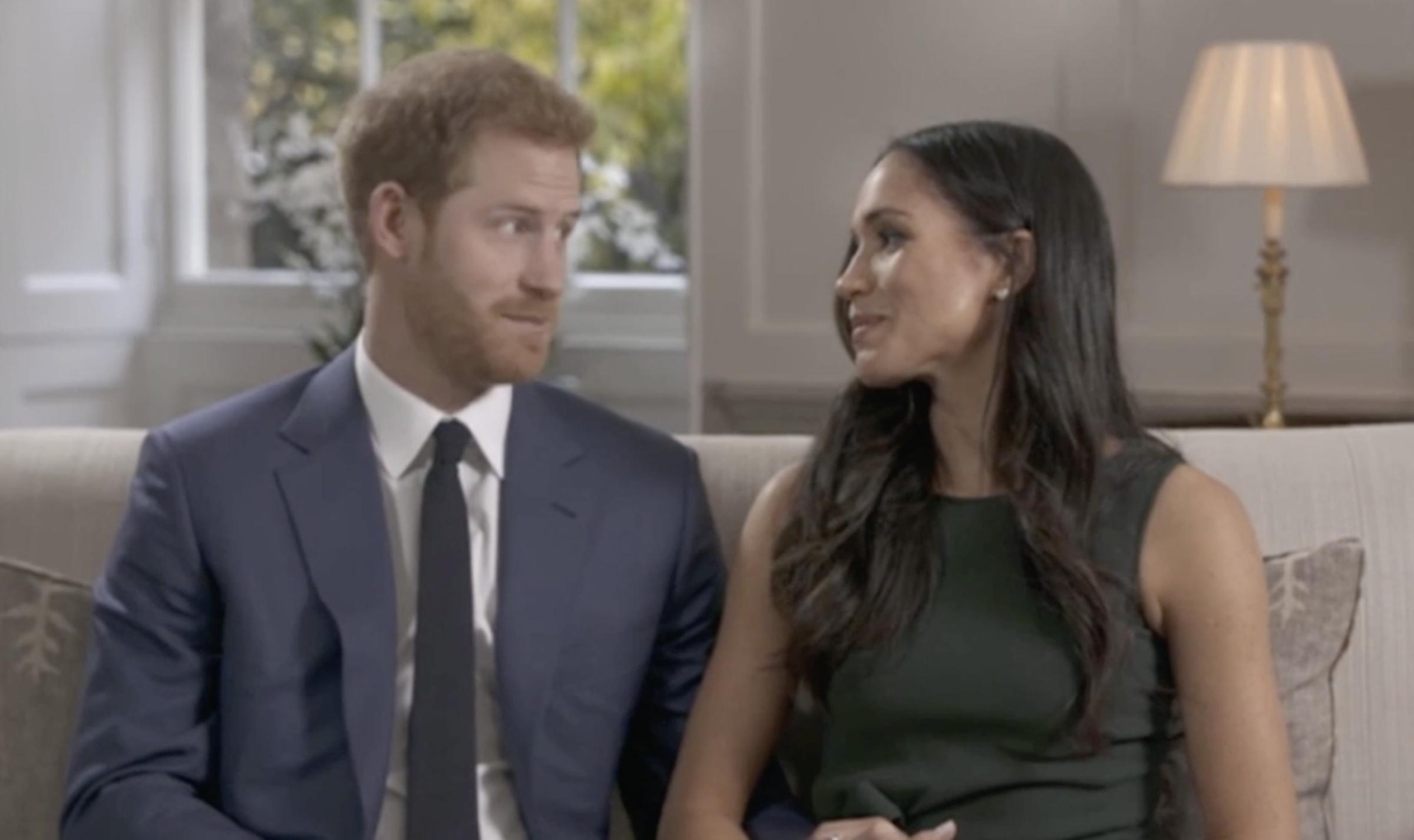 Prince Harry and Meghan Markle reveal how they fir