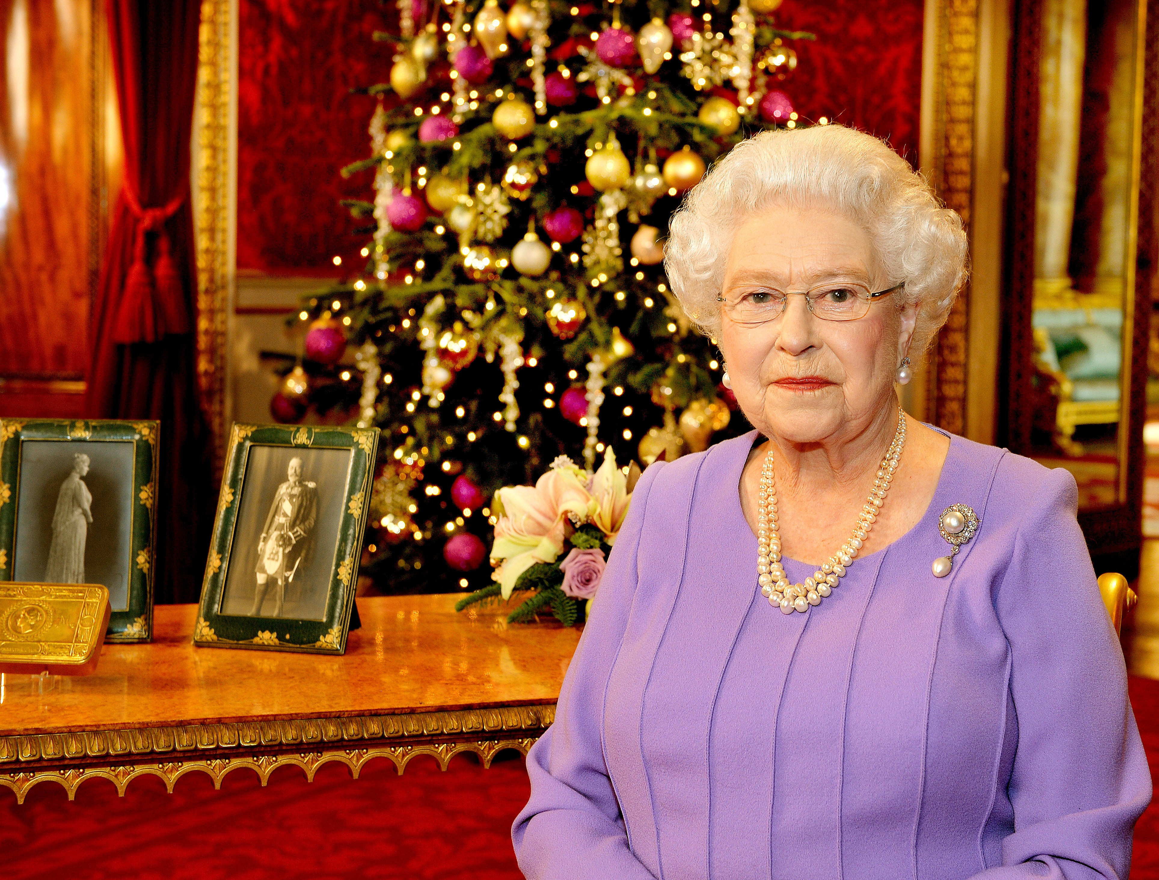 Queen speech Christmas