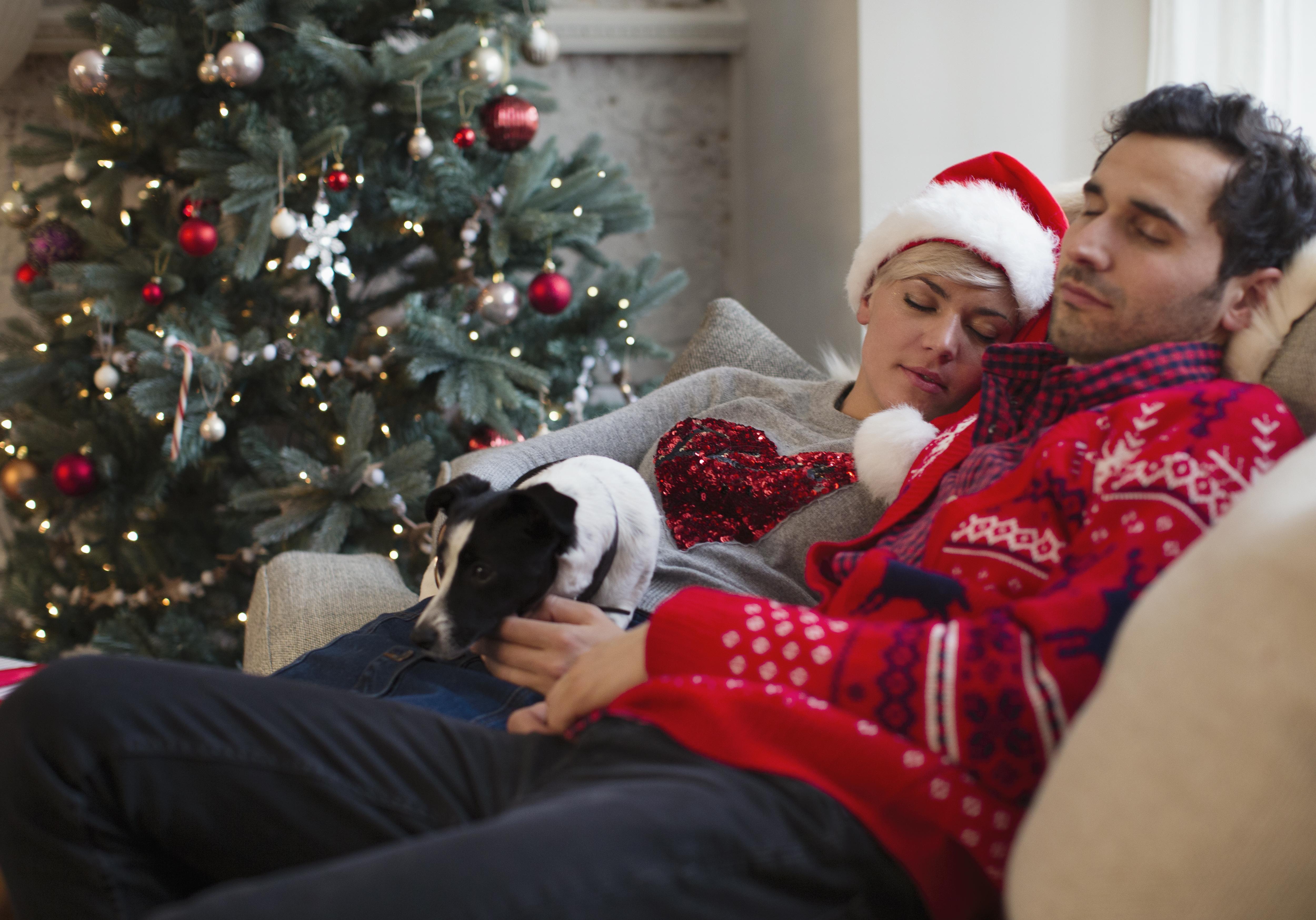 Christmas tired