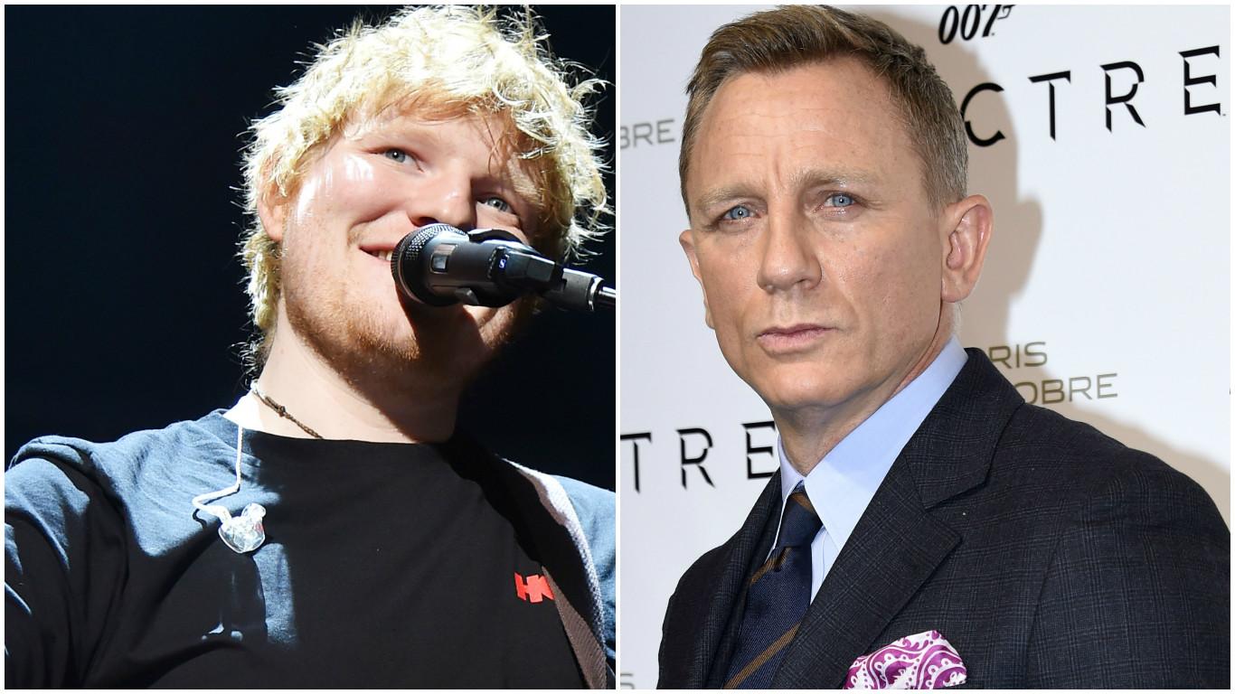 Ed Sheeran / Daniel Craig