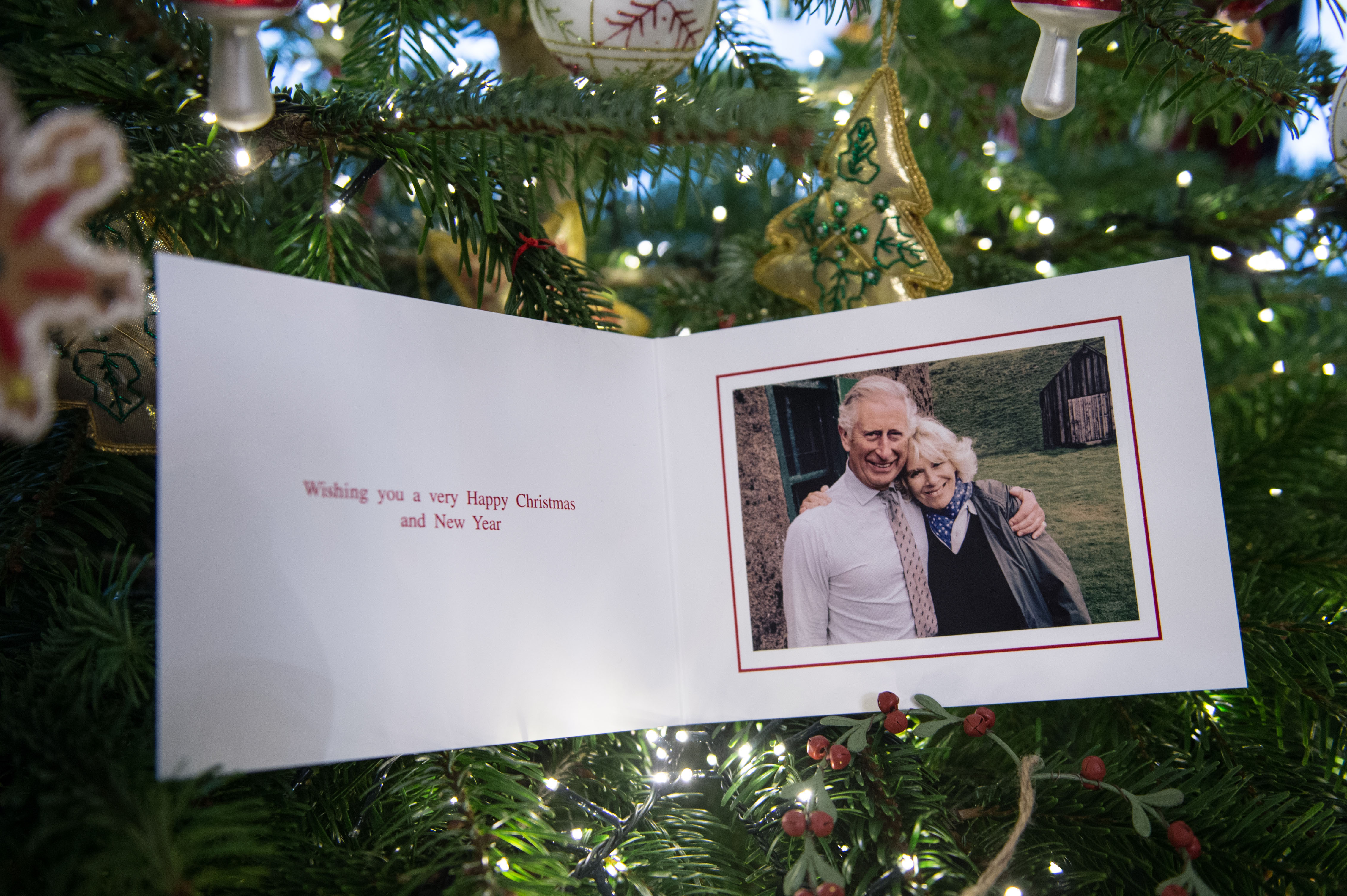 Prince Charles Christmas card