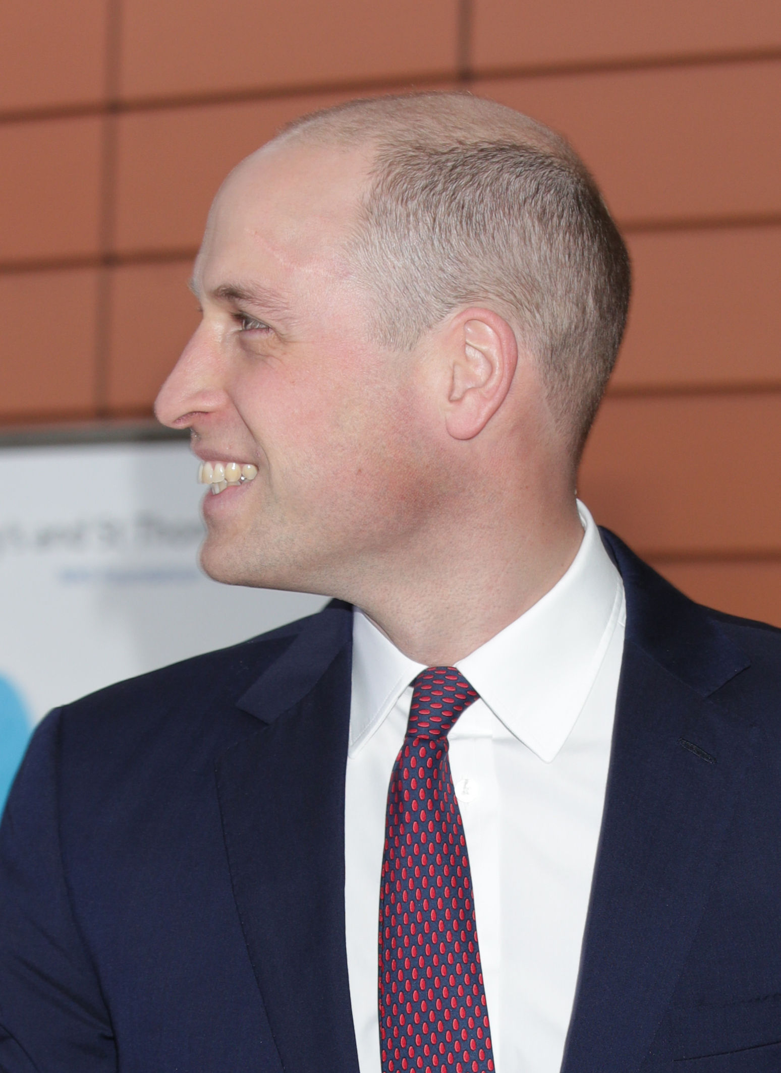 Prince William new haircut