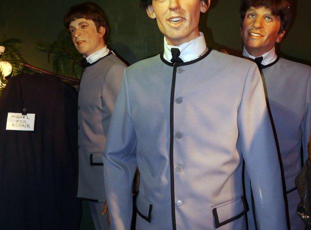Beatles waxwork