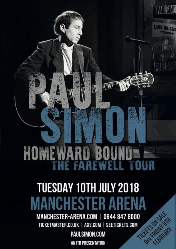 Paul Simon tour