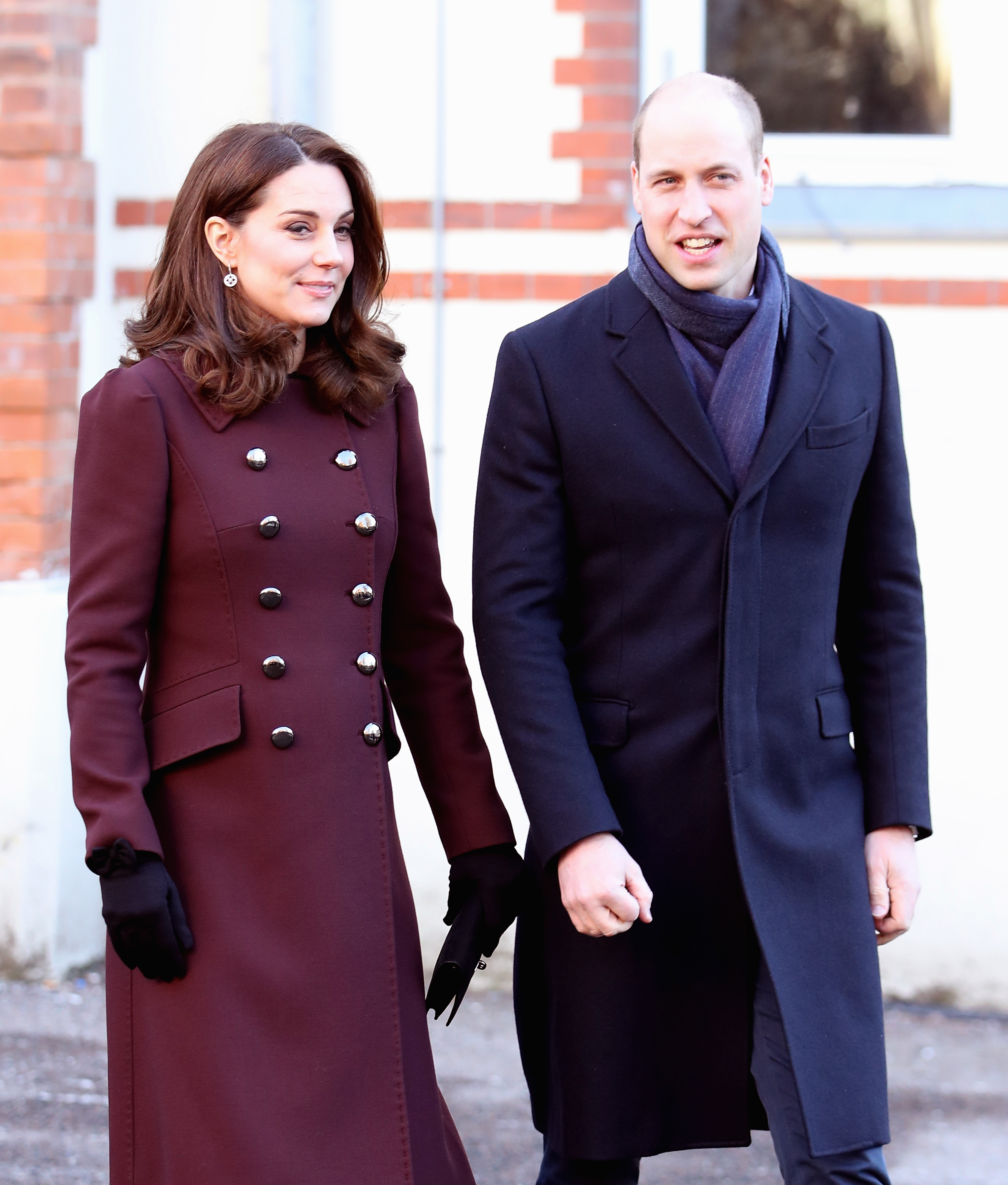 William and Kate visit Sweden