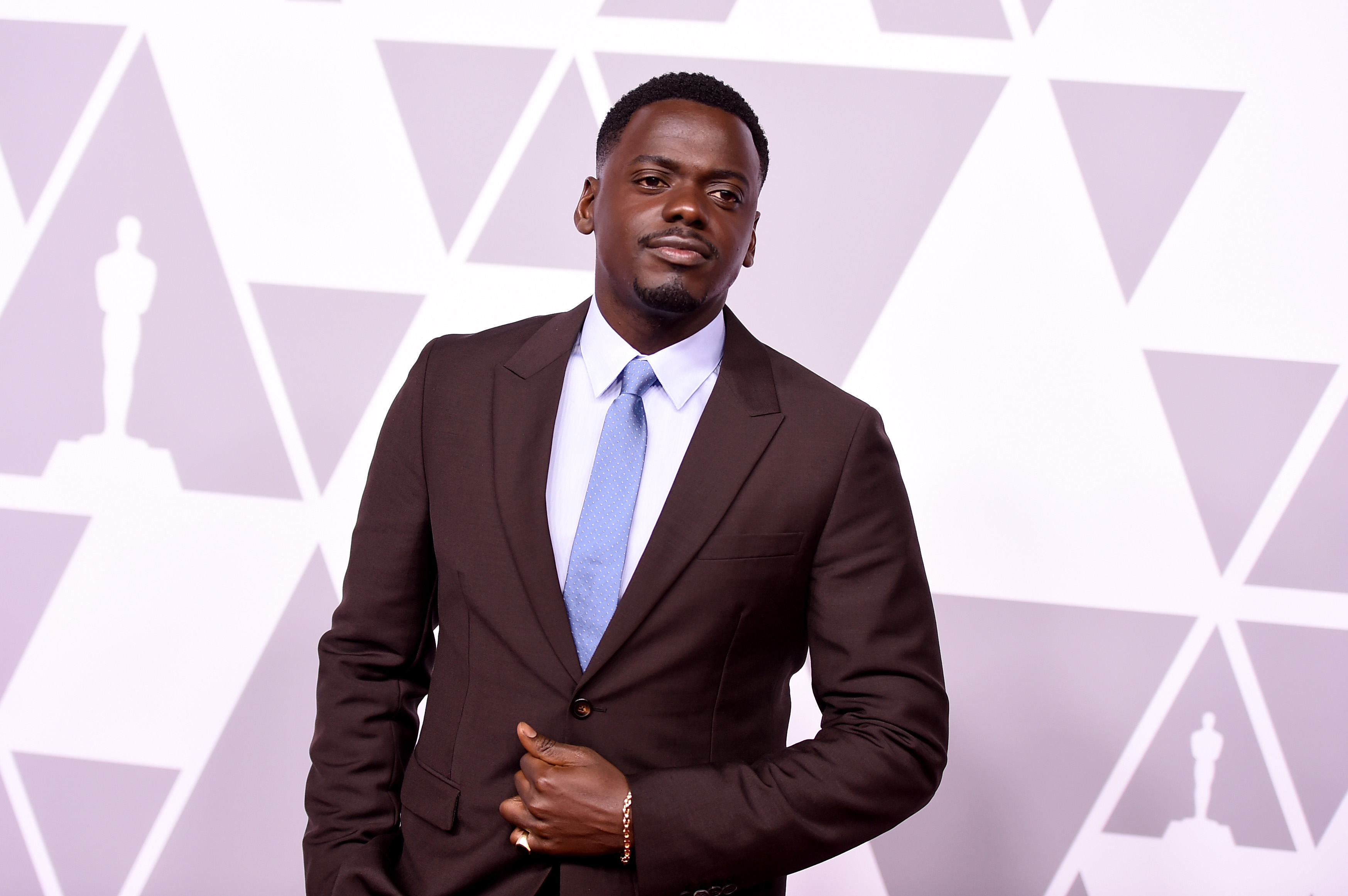 Daniel Kaluuya at the Oscars nominees