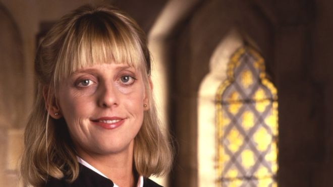 Emma Chambers in The Vicar of Dibley