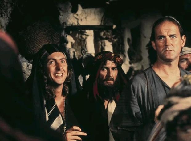 George Harrison and Monty Python