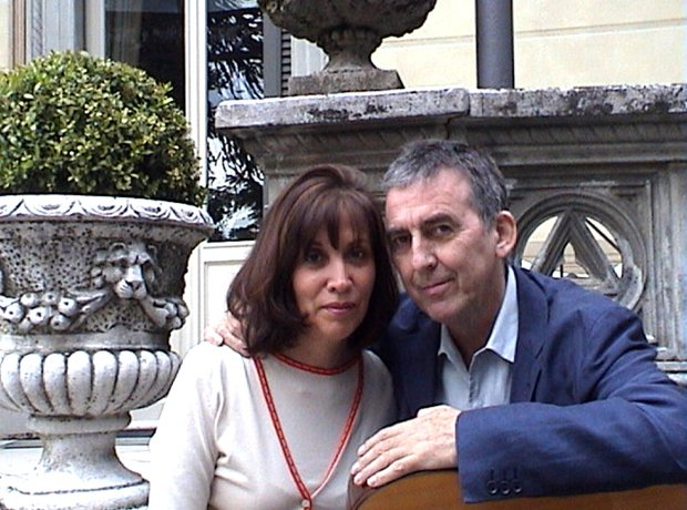 George Harrison and wife Olivia