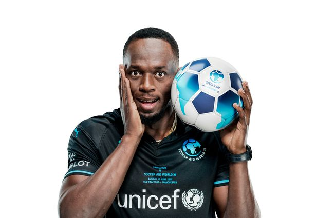 Usain Bolt / Soccer Aid